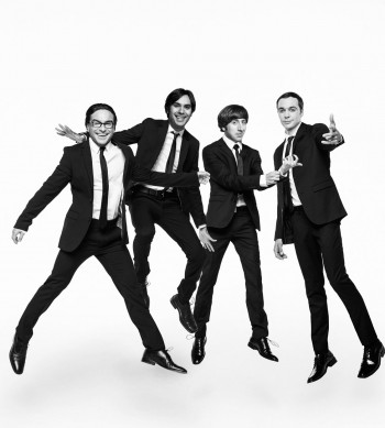 Johnny Galecki, Kunal Nayyar, Simon Helberg, and Jim Parsons
