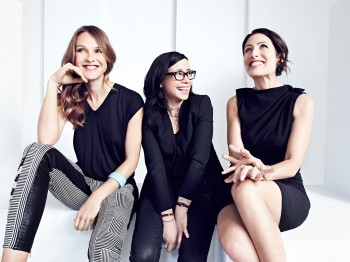 Beau Garret, Janeane Garofalo, and Lisa Edelstein © 2014 NBC Universal Media, LLC