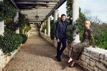 Nicole and Lionel Richie