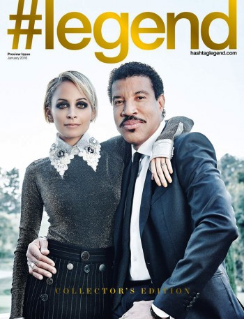 Nicole and Lionel Richie