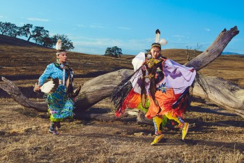 Pow-wow for Chumash Magazine