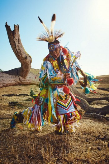 Pow-wow for Chumash Magazine