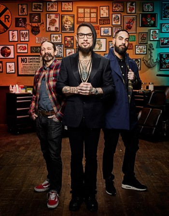 Dave Navarro, Oliver Peck, and Chris Núñez