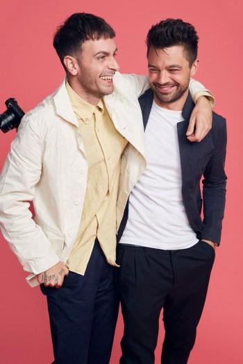 Joe Gilgun and Dominic Cooper