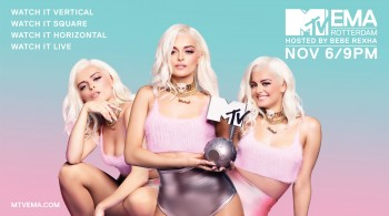 Bebe Rexha for MTV EMA